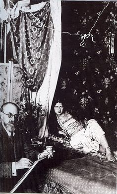 Henri Cartier-Bresson, Henri Matisse and his model, 1928
