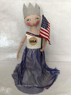 Hey, I found this really awesome Etsy listing at https://www.etsy.com/listing/295245395/ooak-primitive-folk-art-patriotic