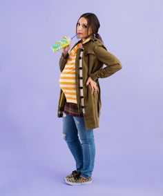 Juno - get it?  and 7 other DIY Maternity Halloween Costumes for Pregnant Women