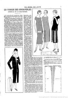La Mode du jour | 1925-05-21 | Gallica