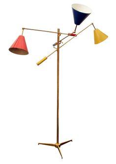 """Triennale"" Floor Lamp - Gino Sarfatti pour Arredoluce - 1950"