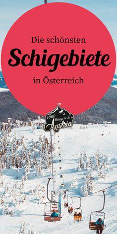 Von Ischgl über Sölden bis hin zum Kitzsteinhorn - hier findest du die schönsten Schigebiete in Österreich. Innsbruck, Taxi, Winter, Movie Posters, Things To Do, Viajes, Nice Asses, Winter Time, Film Poster