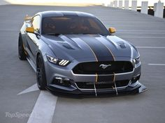 Ford Mustang @ Top Speed