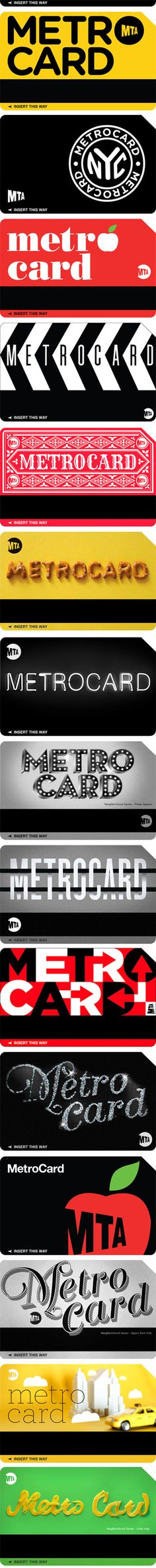 The Metrocard Project by Melanie Chernock