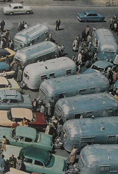Airstream trailers, 1950s