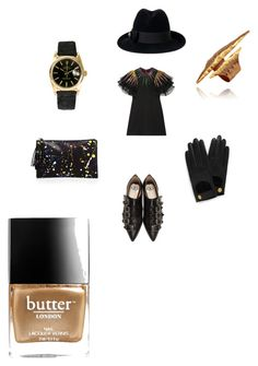 """#setbyfranerli"" by fra-nerli on Polyvore featuring Gucci, Loeffler Randall, Mulberry, Rolex and Butter London"