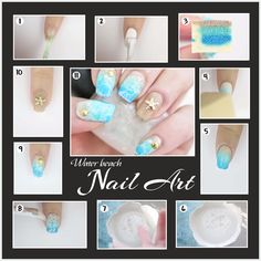 ‪#‎DIY‬  Adorn the beach on your nails this summer  ‪#‎VipulFashions‬ ‪#‎FASHIONFOREVER‬