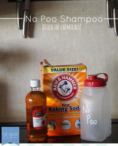 No Poo Shampoo Method.  Why I ditched commercial products and what I use instead.  #naturalliving #chemicalfree #nopoo