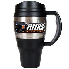 Philadelphia Flyers Travel Mug, Multicolor
