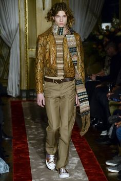 Roberto Cavalli 2016 Fall Menswear Collection