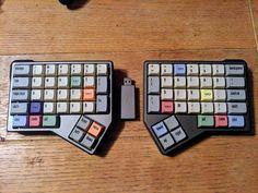 UniGo66 Mini Keyboard, Key Caps, Key To My Heart, Desk Setup, Computer Hardware, Cool Tech, Technology Gadgets, Arduino, Computer Accessories