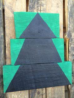 Chalkboard Christmas Tree by CactusCreationsAZ on Etsy