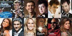 Idol winners