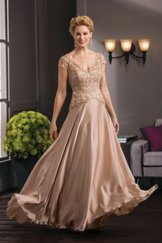 Find More Mother of the Bride Dresses Information about 2016 Champagne Cap Sleeve Chiffon Appliques Mother Of The Bride Dresses A Line Long Brides Mother Dresses For Weddings Plus Size,High Quality dress pants for short men,China dress sand Suppliers, Cheap dress up games dress from Galaxy Wedding Dress Co., Ltd. on Aliexpress.com