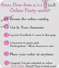 Just a bit of info to help you understand how easy it is to #party with #pinkzebra and earn FREE stuff🙌