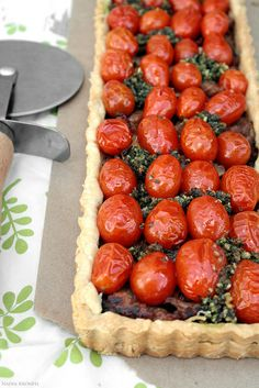 Tomato Tart, via Flickr.