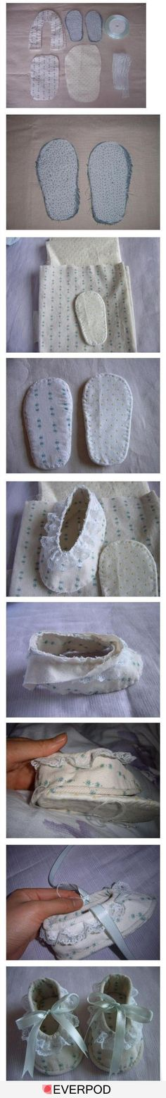 Cute shoe tutorial.