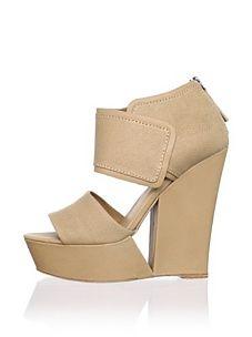 L.A.M.B. Women's Alfie Platform Sandal (Tan)