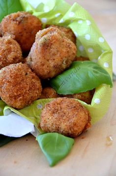 Chicken and ricotta meatballs - Polpette di pollo e ricotta