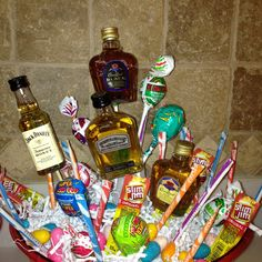Adult easter basket holidays pinterest easter baskets easy easter basket ideas for adults negle Images