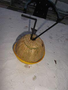 Cosas de Jorge: Melon con pajitas y Grand Marnier
