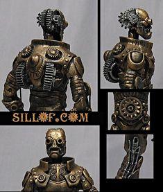 steampunk star wars | Victorian Steampunk Star Wars Figures by SILLOF