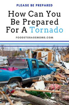 Are you prepared if a tornado hits? Most of the time, you can get away with just some minor damage from a tornado, and you can generally be really safe in the basement.