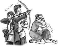 The Old Katniss. The one who loved spring and could always find a way Hunger Games Memes, Hunger Games Trilogy, Katniss And Peeta, Katniss Everdeen, Tribute Von Panem Film, Hunter Games, I Volunteer As Tribute, Train Art, Leo Valdez