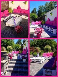 40  1 εκπληκτικές ιδέες για τον κήπο σας απο παλέτες!