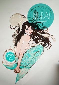 Deep Fried Freckles.: Mermaid