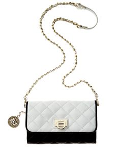 8e4ff2ccdd0bbd DKNY Gansevoort Small Flap Crossbody & Reviews - Handbags & Accessories -  Macy's