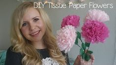 How to make giant tissue paper flowers youtube crafty school diy tissue paper flowers youtube mightylinksfo