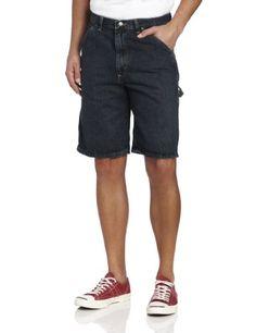 3b2b5b7e Wrangler Men's Rugged Wear Carpenter Short, Dark Quartz, 38 Loose Fit  Durable Triple Needle Stitching Left Side Hammer Loop Right Side Ruler and  Tool ...