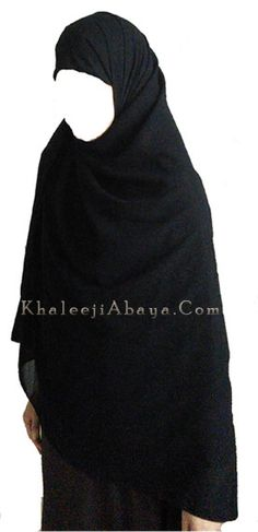 Extra-Wide Premium Hijab for more coverage