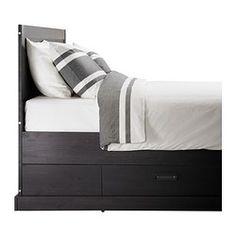 brusali bedroom ikea bedrooms pinterest bedrooms ikea bedroom and master bedroom - Ikea Bed Frame With Storage