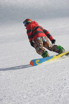 Carving Slopes - Yeeew Jesse, at Sunshine Village Banff with SnowSkool - week nine 2013 via Flickr.