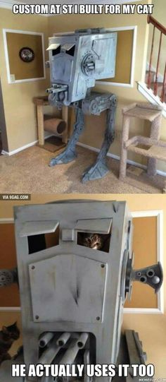 For the cat lovers who are also Star Wars lovers!