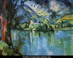 The Lac D Annecy - Paul Cezanne - www.paul-cezanne.org