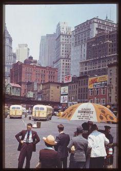 NY, NY in Kodachrome
