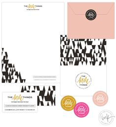 the little things - Salted Ink Design Co.