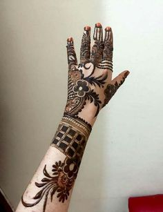 simple Arabic mehndi designs for hands 2019 _ latest Mehndi Designs Khafif Mehndi Design, Floral Henna Designs, Latest Bridal Mehndi Designs, Simple Arabic Mehndi Designs, Mehndi Designs 2018, Modern Mehndi Designs, Mehndi Designs For Beginners, Mehndi Design Pictures, Mehndi Designs For Girls
