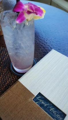 Light and refreshing Lavender Lemonade at #Waiolu is perfect for hot summer days.  #TrumpWaikiki #Waikiki #Hawaii #Lavender #Lemonade #Summer #Drink