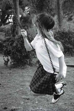 Girl, swing