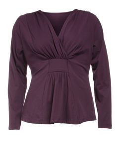 Wrap-effect cotton shirt by Manon Baptiste. Shop now: http://www.navabi.co.nz/shirts-manon-baptiste-wrap-effect-cotton-shirt-brown-purple-13302-4300.html?utm_source=pinterest&utm_medium=social-media&utm_campaign=pin-it
