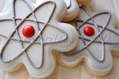 Serendipitous Sweets: atom cookies