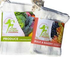 Hands On Hemp — Reusable Produce Bags and Bulk Bags: VIDEO: How to use Hands On Hemp Reusable Produce Bags and Bulk Bags