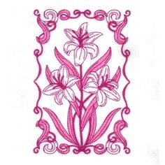 Spring Bloom 10 - 5x7 | What's New | Machine Embroidery Designs | SWAKembroidery.com Starbird Stock Designs