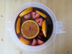 The Best Sangria Recipe // Two Leaf Clover