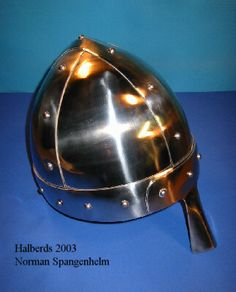 Armour Archive -- Pattern Archive: Norman Spangenhelm by Halberds