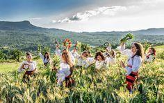 #Sânziene rituals Photo by Viorelia Tarța — National Geographic Your Shot